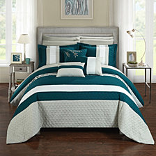 Chic Home Pueblo 10-Pc King Comforter Set