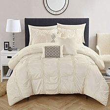 Chic Home Tori 10-Pc Queen Comforter Set