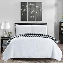 Ora 3-Pc King Comforter Set