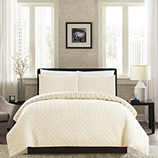 Ora 3-Pc Queen Comforter Set