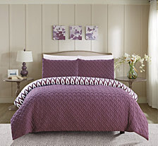 Chic Home Ora 3-Pc Queen Comforter Set