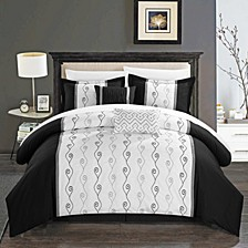 Priston 6-Pc Queen Comforter Set