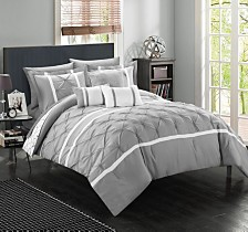 Chic Home Dorothy 10-Pc Queen Comforter Set