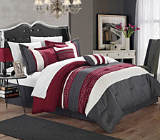 Chic Home Carlton 10-Pc Queen Comforter Set