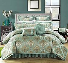 Como 9-Pc King Comforter Set