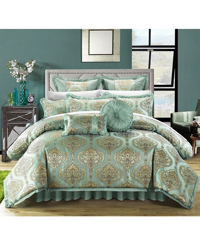 Chic Home - Como 9-Pc. King Comforter Set