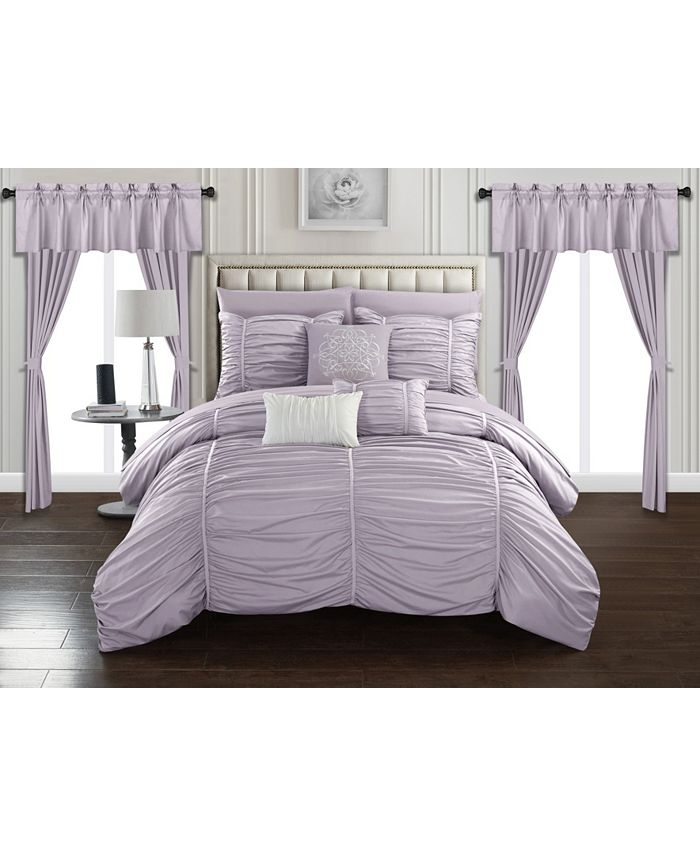 Chic Home - Avila 20-Pc. Bed In a Bag Comforter Set