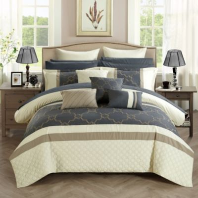 Camilia 16-Pc Queen Comforter Set