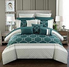 Chic Home Camilia 16-Pc Queen Comforter Set