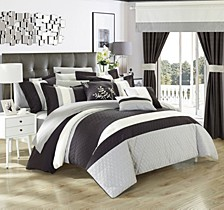 Covington 24-Pc King Comforter Set