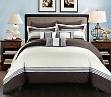 Falcon 10-Pc Queen Comforter Set