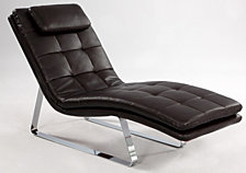 Bella Luna Chaise Seat - Brown