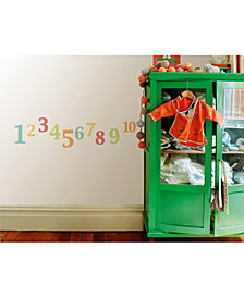 Numbers Wall Stickers Set Of 22