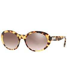 Miu Miu Sunglasses, MU 01US 53