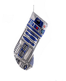 Kurt Adler 19-inch Battery-Operated Star Wars R2D2 Stocking with Sound