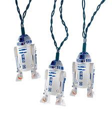 Kurt Adler UL 10-Light Star Wars Plastic R2D2 Light Set