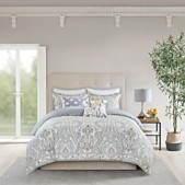Echo Design Venus Full Queen 3 Piece Reversible Cotton Comforter Set