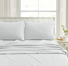 Heavyweight Flannel Solid Extra Deep Pocket Twin Sheet Set