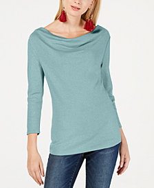 I.N.C. Cowlneck Top, Created for Macy's