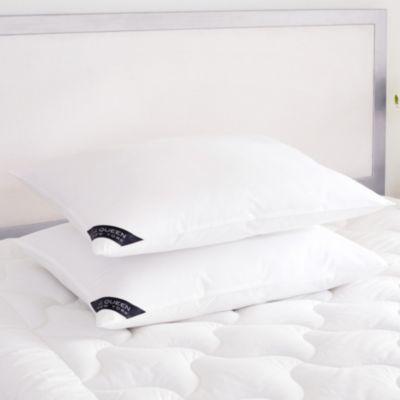Royalty 233 Thread Count Cotton Allergen Barrier Down Alternative Pillow 2 Pack - Standard/Queen - Medium