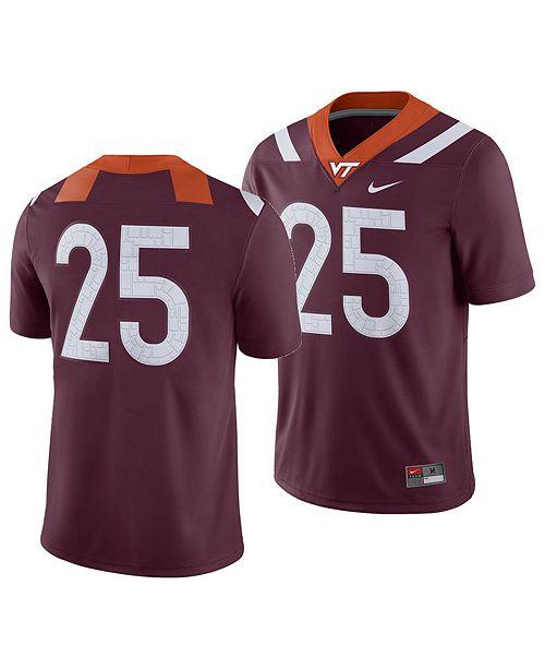 pretty nice 987eb aea74 Men's Virginia Tech Hokies Football Replica Game Jersey