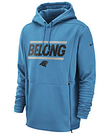 Nike Men's Carolina Panthers Sideline Player Local Therma Hoodie