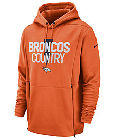 Nike Men's Denver Broncos Sideline Player Local Therma Hoodie