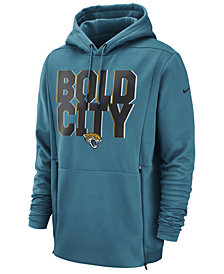 Nike Men's Jacksonville Jaguars Sideline Player Local Therma Hoodie