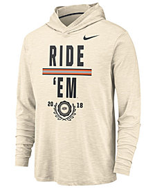 Nike Men's Oklahoma State Cowboys Rivalry Long Sleeve Hooded T-Shirt