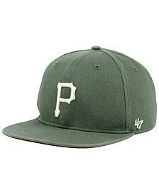 '47 Brand Pittsburgh Pirates Moss Snapback Cap