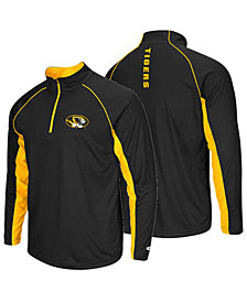 Colosseum Men's Missouri Tigers Rival Quarter-Zip Pullover