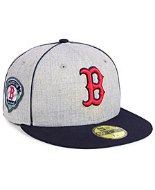 New Era Boston Red Sox Stache 59FIFTY FITTED Cap