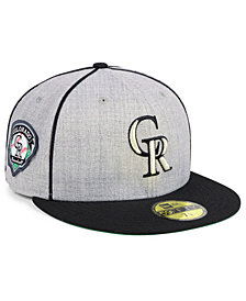New Era Colorado Rockies Stache 59FIFTY FITTED Cap