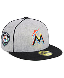 New Era Miami Marlins Stache 59FIFTY FITTED Cap