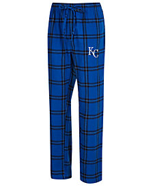 Concepts Sport Men's Kansas City Royals Homestretch Flannel Pajama Pants