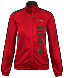 G-III Sports Women's Tampa Bay Buccaneers Backfield Track Jacket
