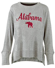Pressbox Women's Alabama Crimson Tide Cuddle Knit Sweatshirt
