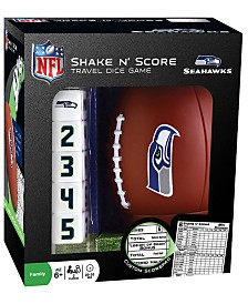 MasterPieces Puzzle Company Seattle Seahawks Shake N Score Game