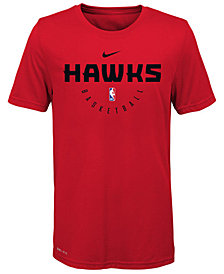 Nike Atlanta Hawks Elite Practice T-Shirt, Big Boys (8-20)