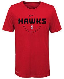 Nike Atlanta Hawks Elite Practice T-Shirt, Big Boys (8-20)