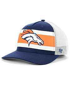 '47 Brand Denver Broncos Team Stripe MVP Cap