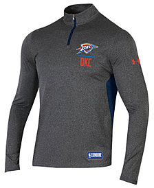 Under Armour Men's Oklahoma City Thunder Combine Authentic Season Quarter-Zip Pullover