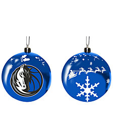 "Memory Company Dallas Mavericks 3"" Sled Glass Ball"