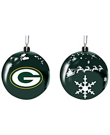 "Memory Company Green Bay Packers 3"" Sled Glass Ball"