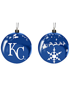 "Memory Company Kansas City Royals 3"" Sled Glass Ball"