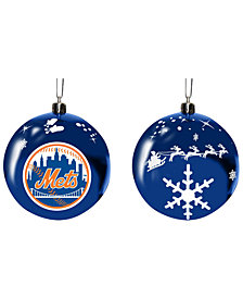 "Memory Company New York Mets 3"" Sled Glass Ball"