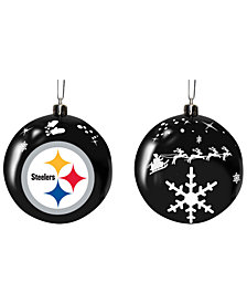 "Memory Company Pittsburgh Steelers 3"" Sled Glass Ball"