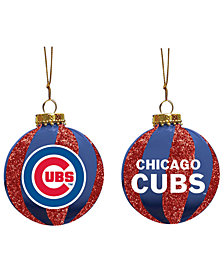 "Memory Company Chicago Cubs 3"" Sparkle Glass Ball"