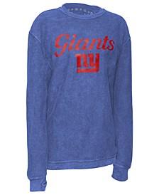 Women's New York Giants Comfy Cord Top