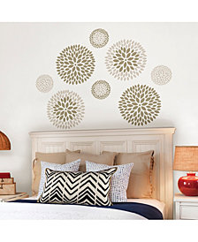 Chrysanthemum Wall Art Kit